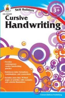 Carson Dellosa Cursive Handwriting Workbook, Grade 3+