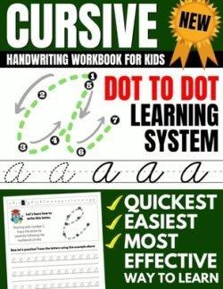 Brighter Child Cursive Handwriting Workbook