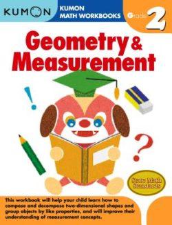 Kumon Geometry & Measurement Workbook, Grade 2