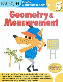 Kumon Geometry & Measurement Workbook, Grade 5