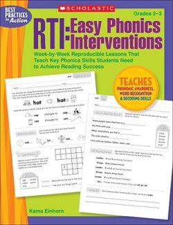 Scholastic RTI: Easy Phonics Interventions, Grades 2-3