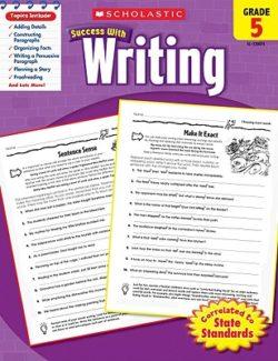 Scholastic Writing Workbook, Grade 5