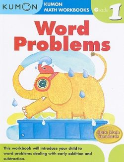 Kumon Word Problems Workbook, Grade 1