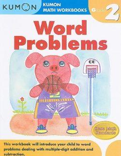 Kumon Word Problems Workbook, Grade 2