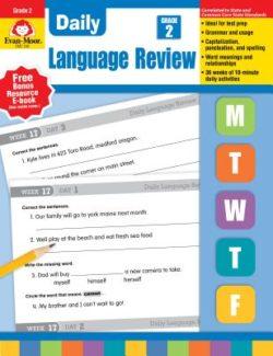 Evan Moor Daily Language Review Grade 2