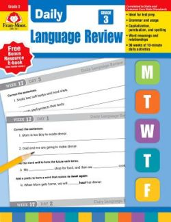 Evan Moor Daily Language Review Grade 3