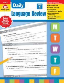 Evan Moor Daily Language Review Grade 4