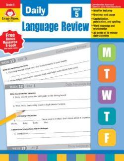Evan Moor Daily Language Review Grade 5