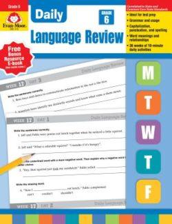 Evan Moor Daily Language Review Grade 6
