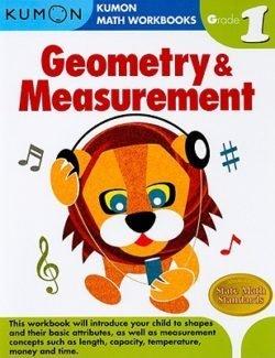 Kumon Geometry & Measurement Workbook, Grade 1