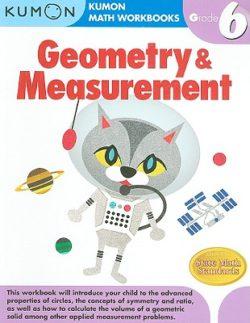Kumon Geometry & Measurement Workbook, Grade 6