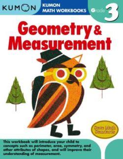 Kumon Geometry & Measurement Workbook, Grade 3