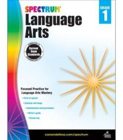Spectrum Language Arts Workbook, Grade 1