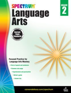 Spectrum Language Arts Workbook, Grade 2