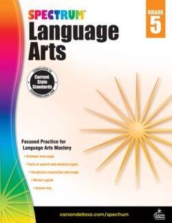 Spectrum Language Arts Workbook, Grade 5
