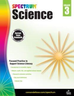 Spectrum Science Workbook, Grade 3