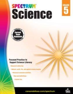 Spectrum Science Workbook, Grade 5