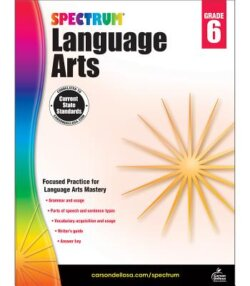 Spectrum Language Arts Workbook, Grade 6