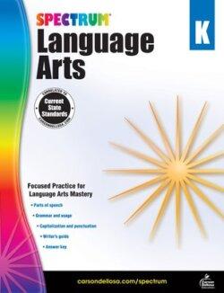 Spectrum Language Arts Workbook, Grade K